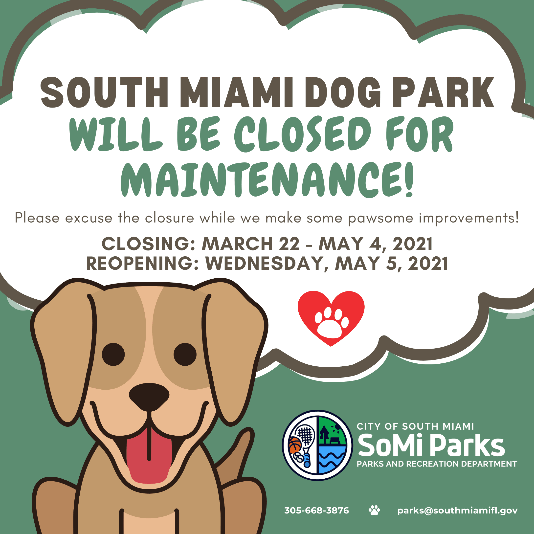 Dog Park Closed (2)